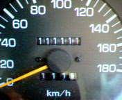祝!111111km